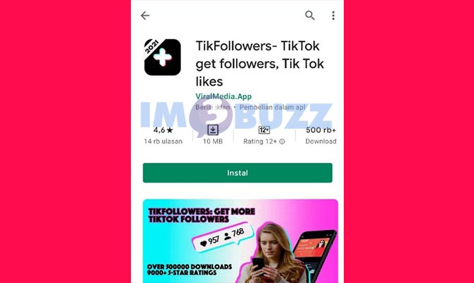 20 Link Penambah Followers Tiktok Gratis Di Android 2021 Im3buzz Com